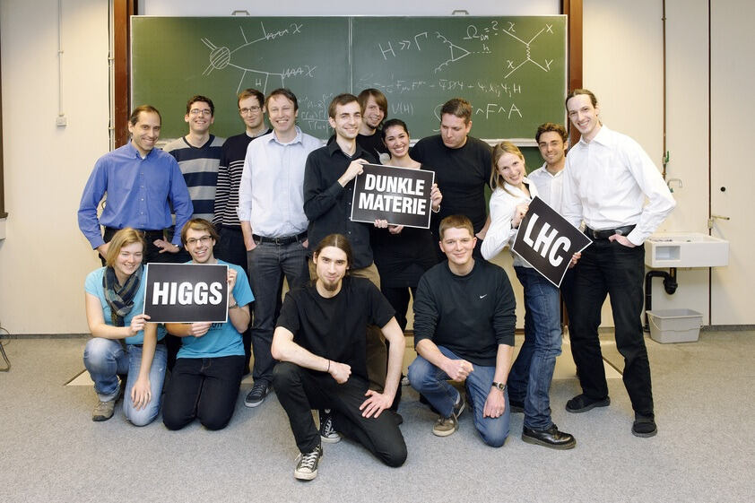 Working group around Prof. Michael Kraemer from the RWTH Aachen Elementary Particle Physics Teaching and Research Area