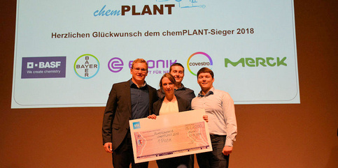 Team of AVT.FVT wins chemPLANT competition!