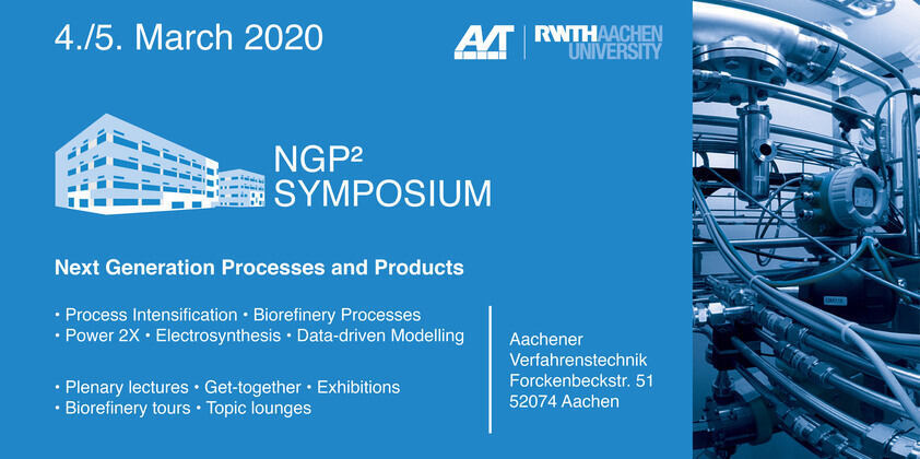 Flyer for the NGP²-Symposium on 5th and 6th of march 2020