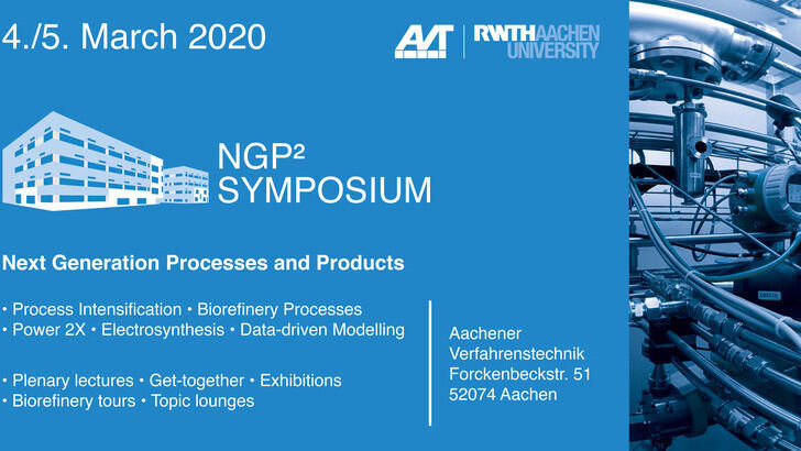 Flyer NGP² Symposium on the 4th and 5th of march