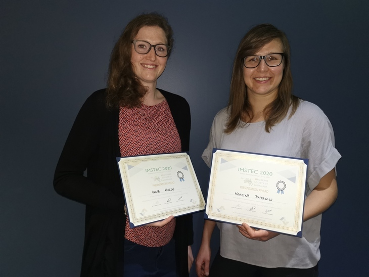 Two CVT phDs woth presentation award